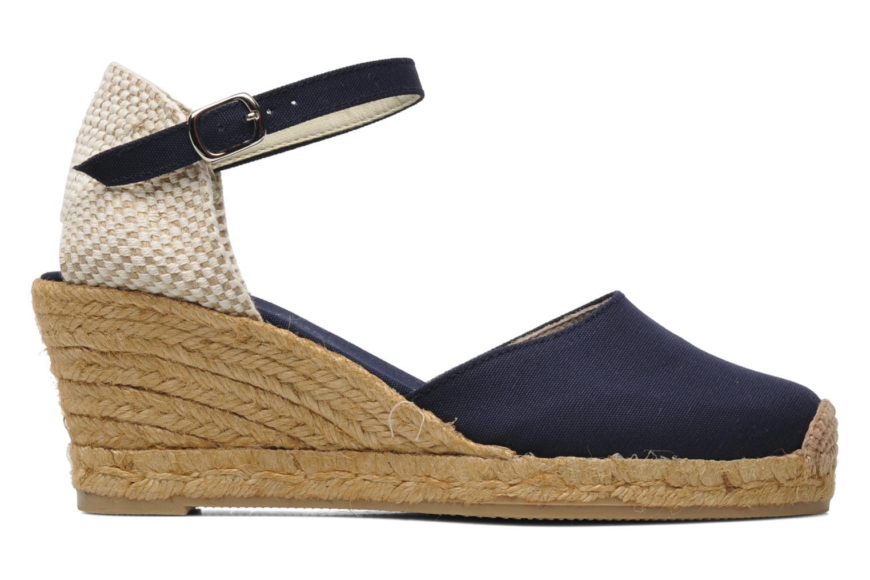 Sandales et nu-pieds Georgia Rose Ipona Bleu vue derrière