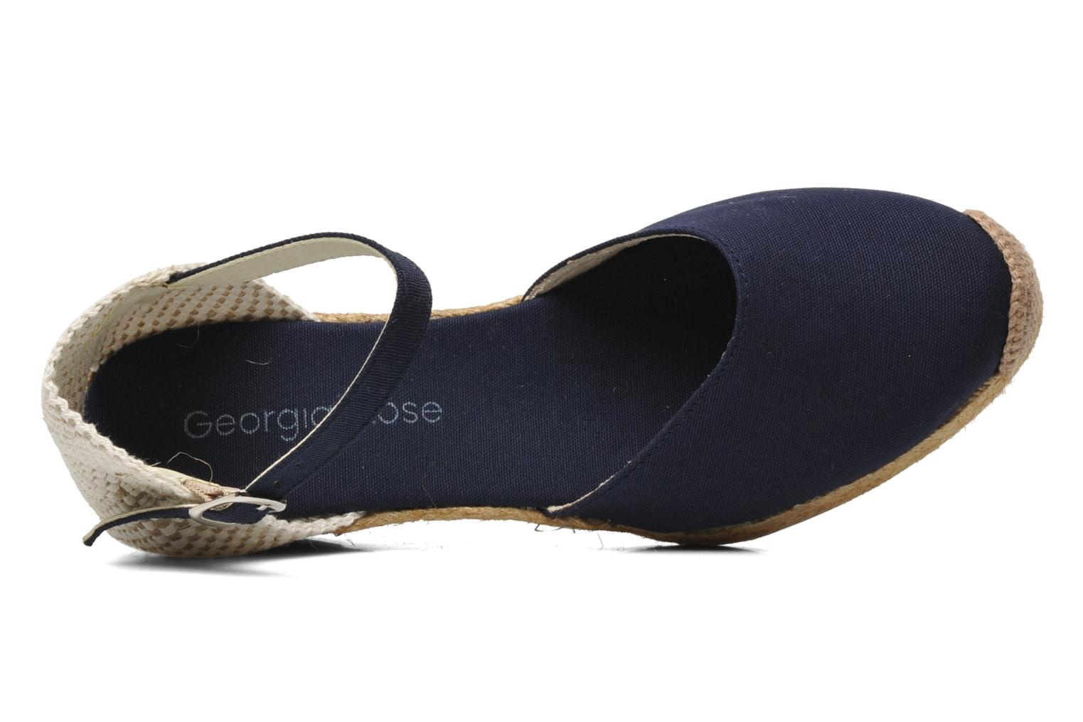 Sandals Georgia Rose Ipona Blue view from the left