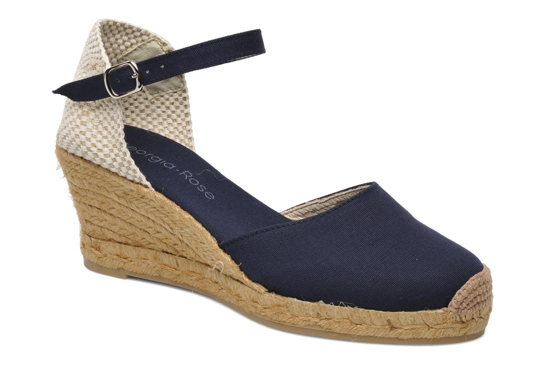 Sandaler Georgia Rose Ipona Blå detaljeret billede af skoene