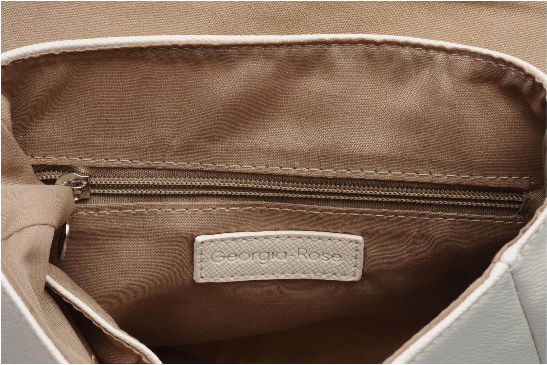 Handväskor Georgia Rose Lenny Vit bild från baksidan