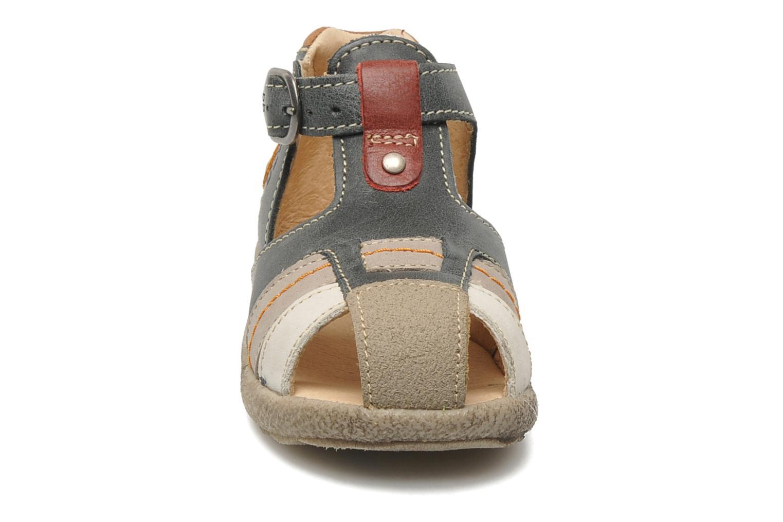 Sandales et nu-pieds Babybotte TAIBO Gris vue portées chaussures