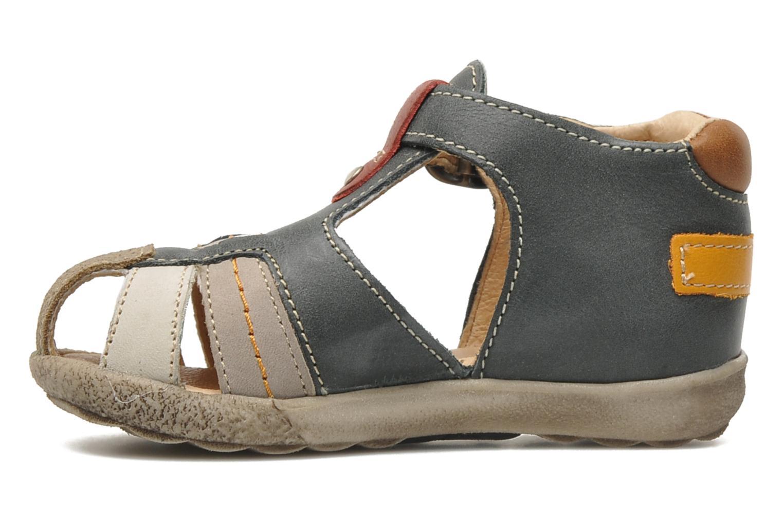 Sandales et nu-pieds Babybotte TAIBO Gris vue face