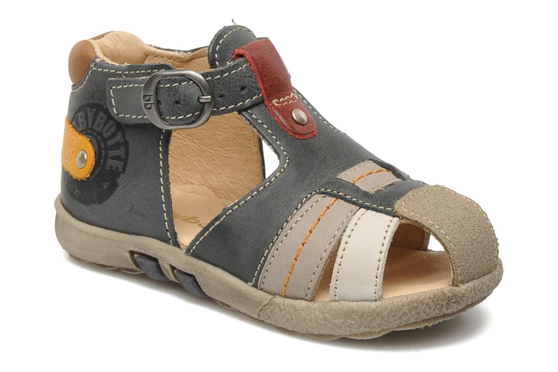 Sandales et nu-pieds Babybotte TAIBO Gris vue détail/paire