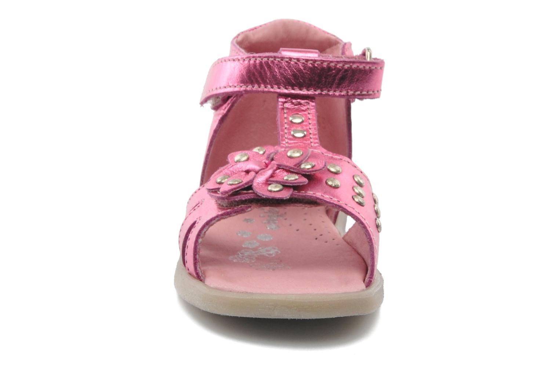 Sandalen Babybotte TAHIS rosa schuhe getragen
