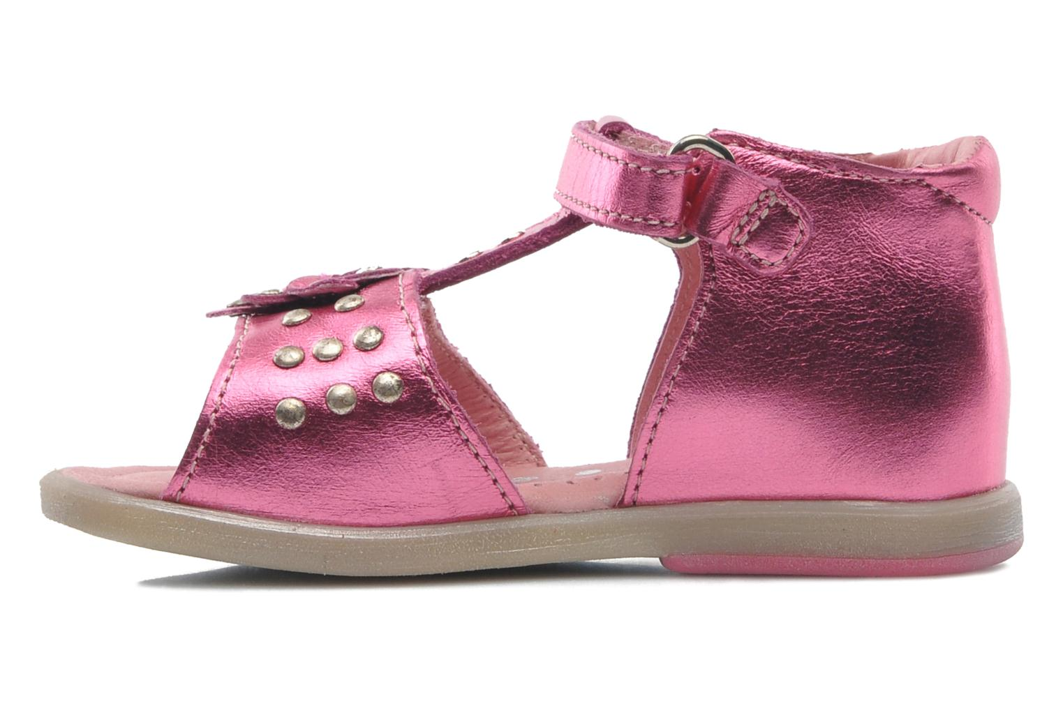 Sandals Babybotte TAHIS Pink front view