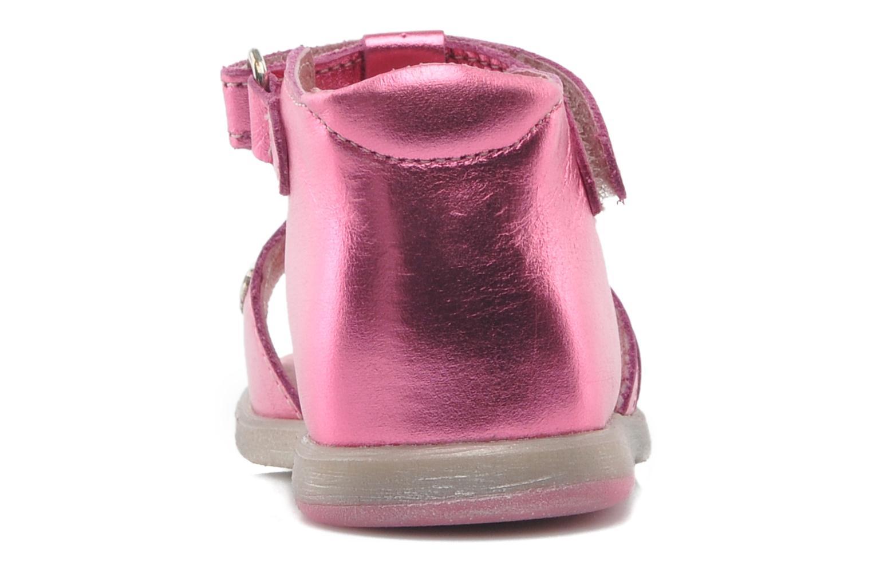 Sandalen Babybotte TAHIS rosa ansicht von rechts