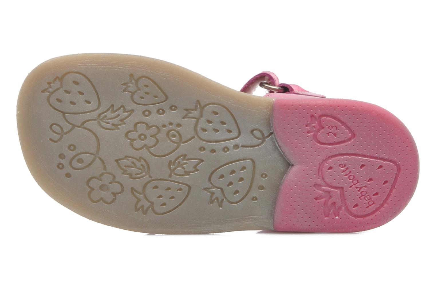 Sandals Babybotte TAHIS Pink view from above