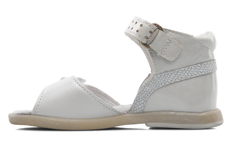 Sandalen Babybotte TZARINE weiß ansicht von vorne