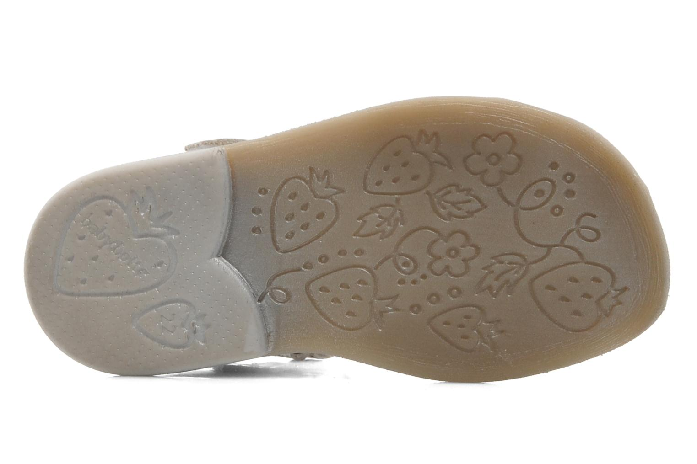 Sandalen Babybotte TZARINE weiß ansicht von oben