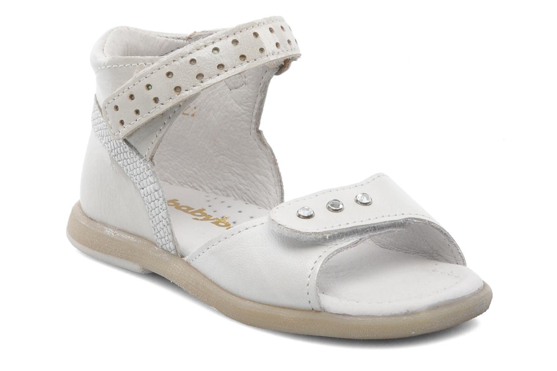 Sandalen Babybotte TZARINE weiß detaillierte ansicht/modell