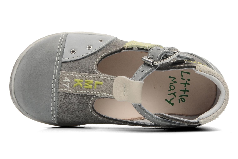 Sandalen Little Mary PANTIN grau ansicht von links