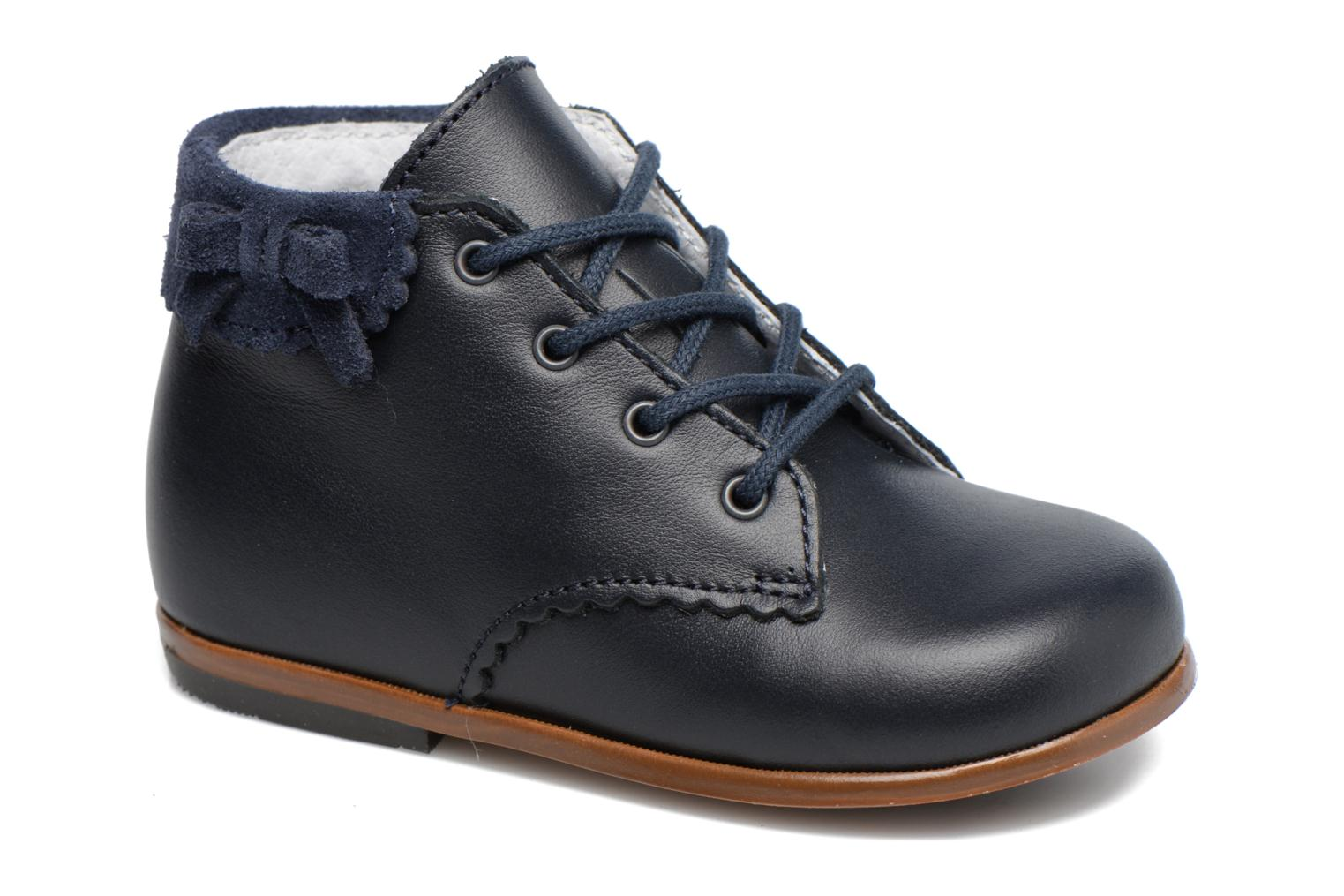 Bottines et boots Little Mary OLEA Bleu vue détail/paire