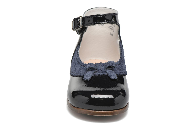 Ballerines Little Mary OLYZZIE Bleu vue portées chaussures