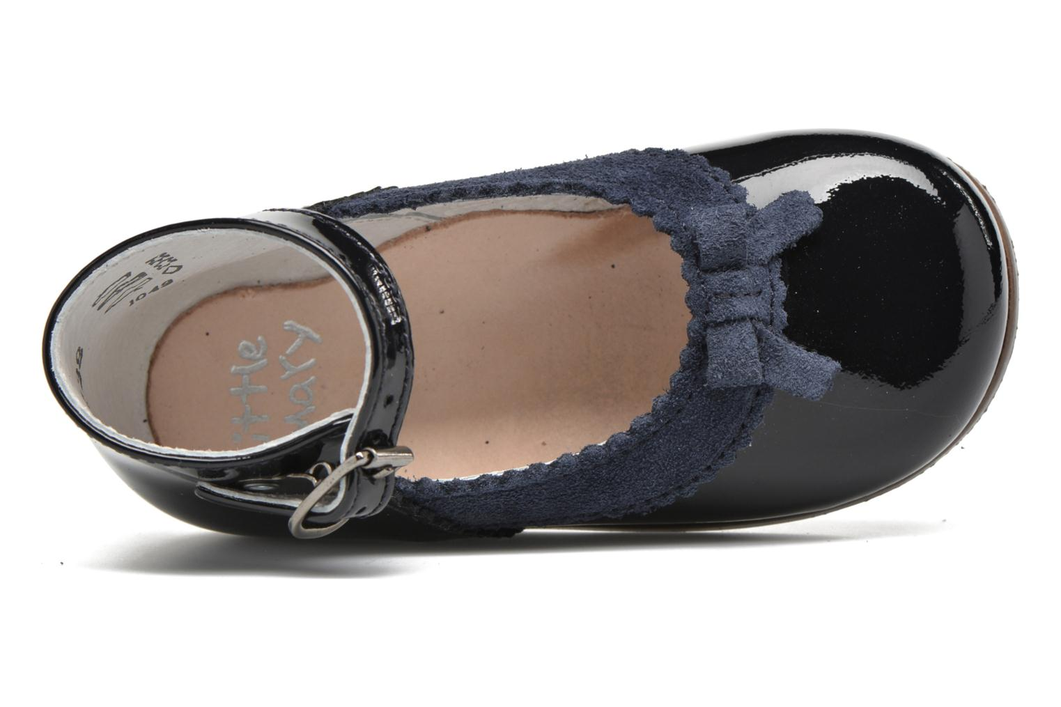 Ballet pumps Little Mary OLYZZIE Blue view from the left