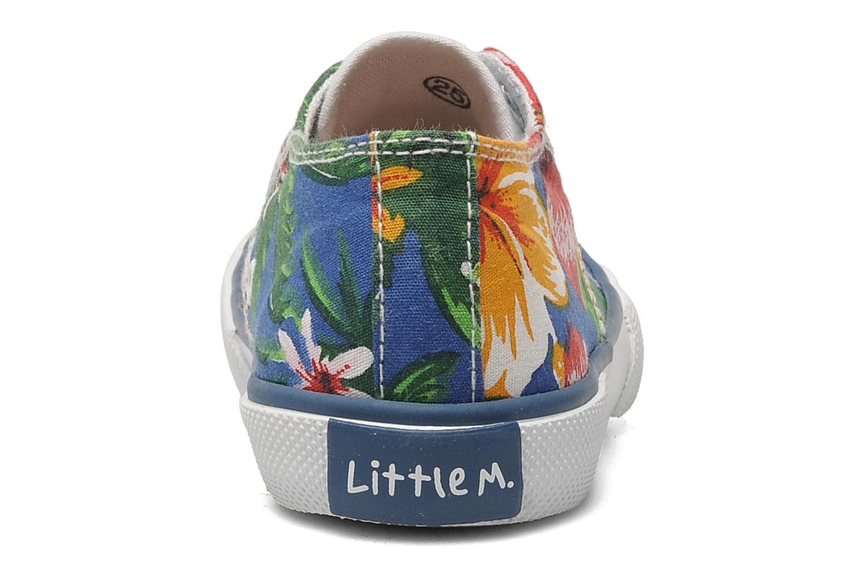 LITTLE TENNIS FLOWERS BLEU