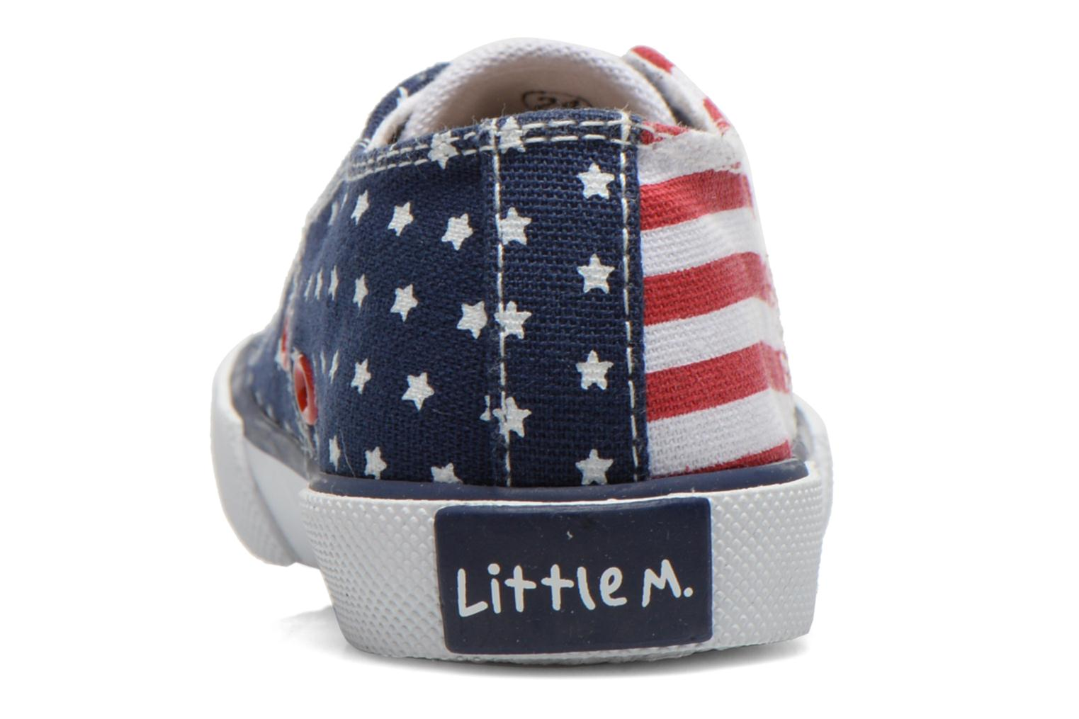 Deportivas Little Mary LITTLE TENNIS Blanco vista lateral derecha