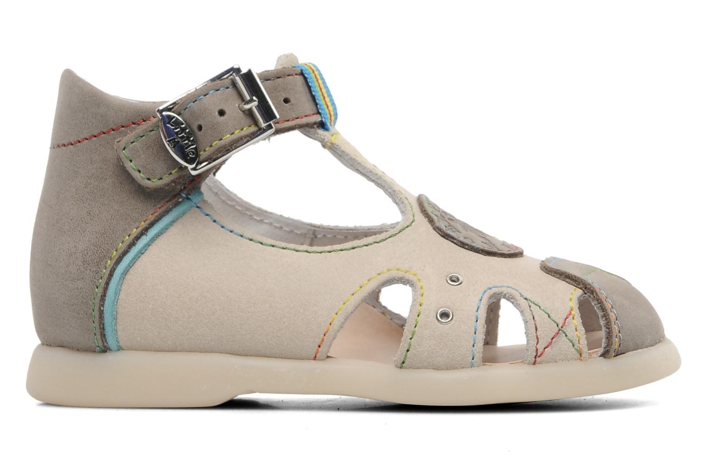 Sandales et nu-pieds Little Mary PABLO Gris vue derrière