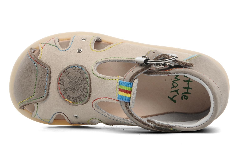 Sandales et nu-pieds Little Mary PABLO Gris vue gauche