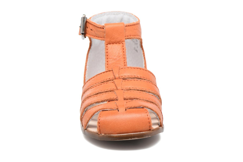 Sandalen Little Mary Jules orange schuhe getragen