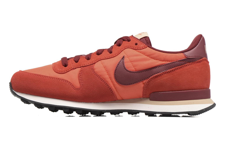 Sneaker Nike Nike Internationalist orange ansicht von vorne