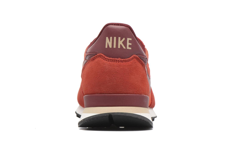 Baskets Nike Nike Internationalist Orange vue droite