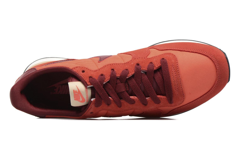 Sneaker Nike Nike Internationalist orange ansicht von links