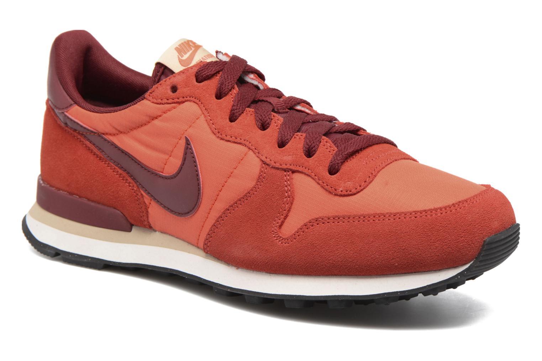 Baskets Nike Nike Internationalist Orange vue détail/paire