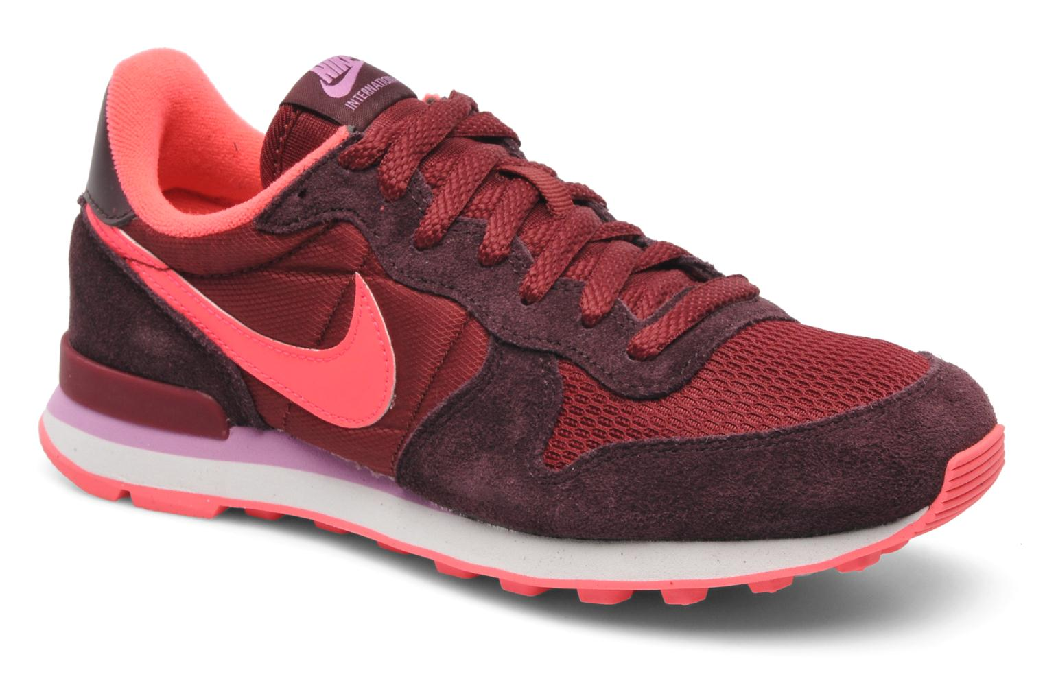 nike internationalist bordeaux,kaufen mzn4b e2gupg Sportschuhe Nike  Internationalist Damen Tiefe Gra 47e6578567