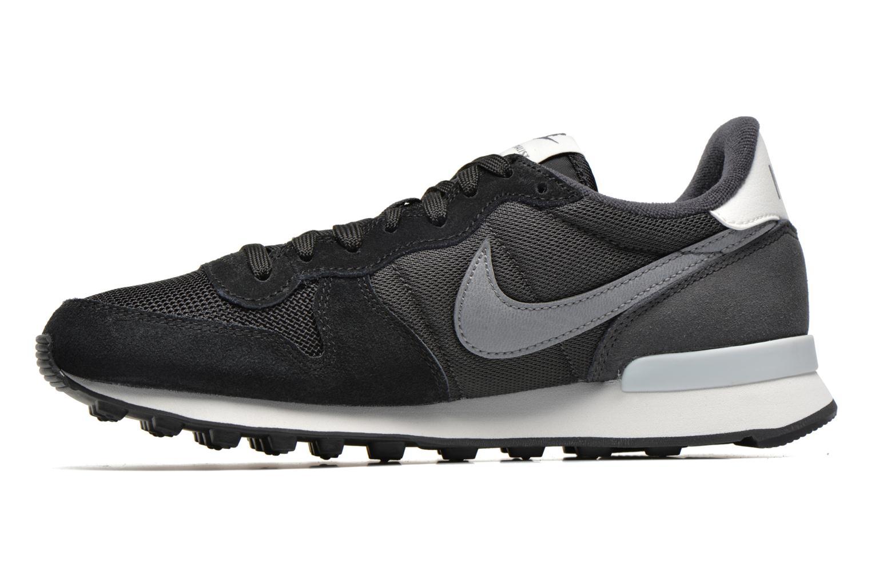 Sneakers Nike Wmns Nike Internationalist Zwart voorkant