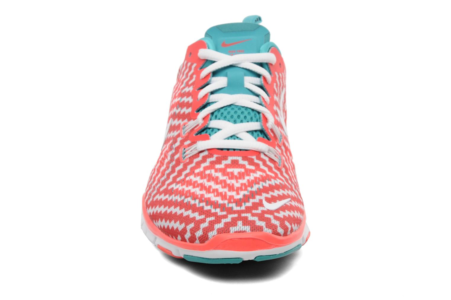 Sport shoes Nike Wmn Nike Free 5.0 Tr Fit 4 Prt Red model view