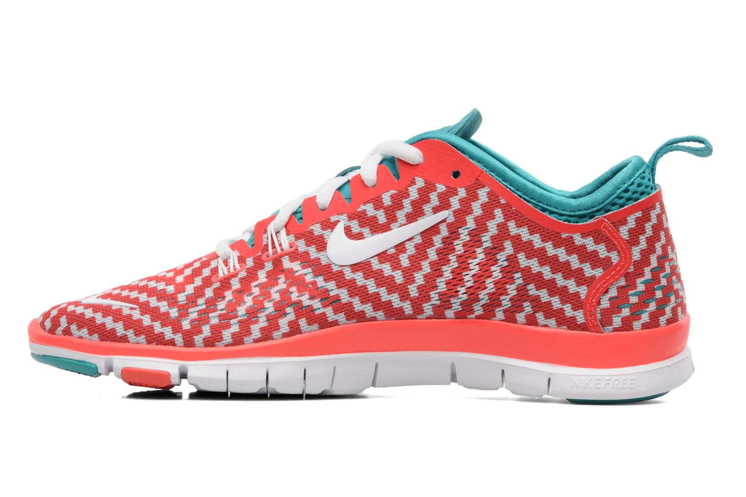 Sport shoes Nike Wmn Nike Free 5.0 Tr Fit 4 Prt Red front view