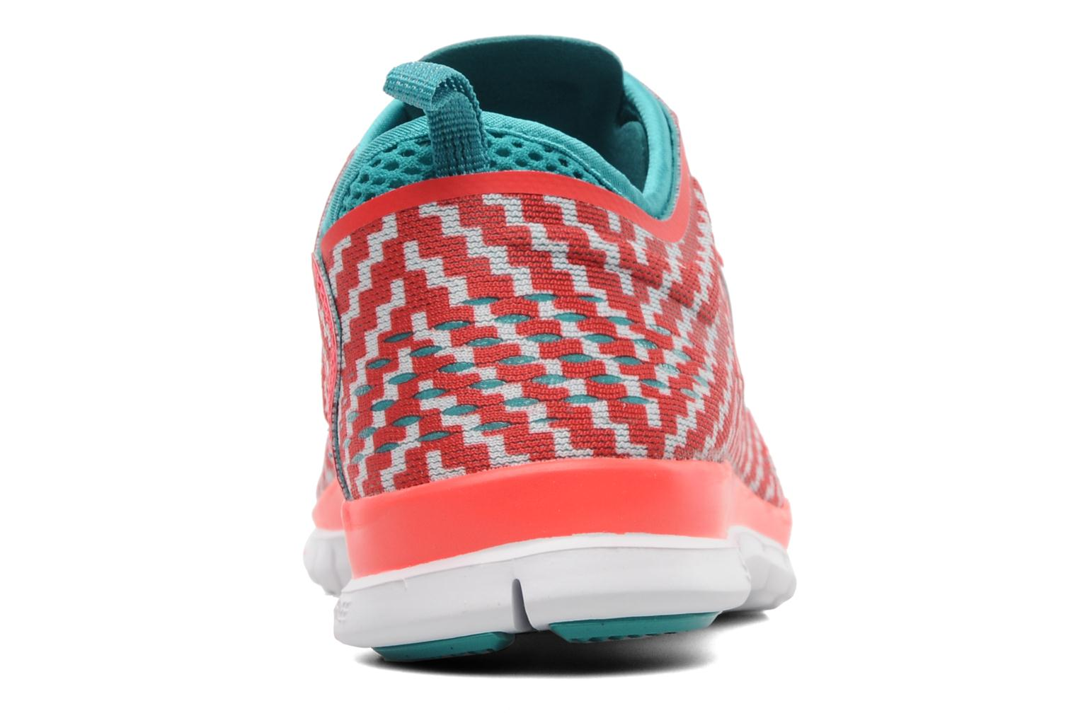 Sport shoes Nike Wmn Nike Free 5.0 Tr Fit 4 Prt Red view from the right