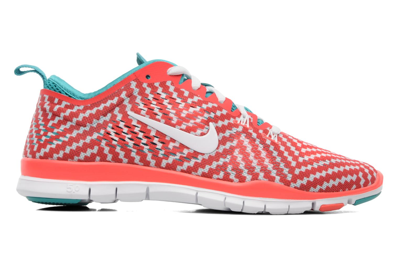 Sport shoes Nike Wmn Nike Free 5.0 Tr Fit 4 Prt Red back view