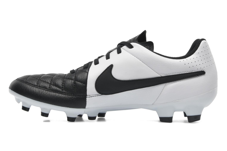Sportschuhe Nike Tiempo Genio Leather Fg schwarz ansicht von vorne