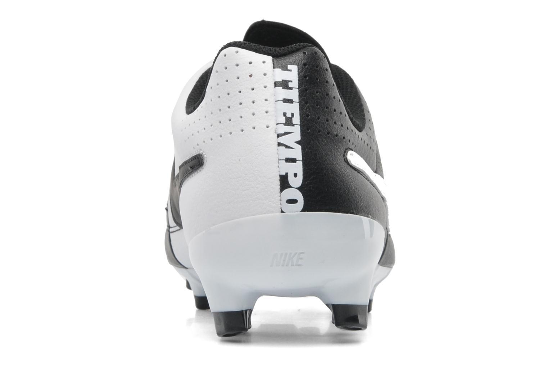 Sportschuhe Nike Tiempo Genio Leather Fg schwarz ansicht von rechts