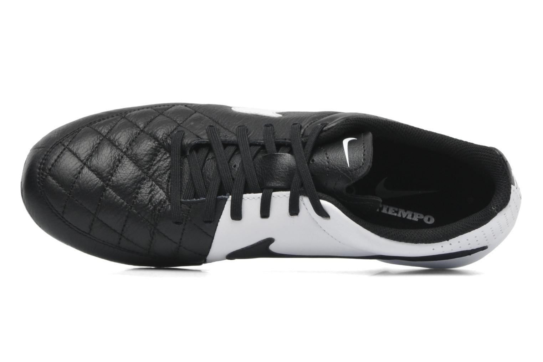 Sportschuhe Nike Tiempo Genio Leather Fg schwarz ansicht von links