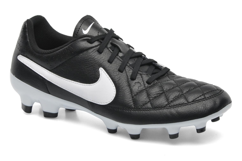 Sportschuhe Nike Tiempo Genio Leather Fg schwarz detaillierte ansicht/modell