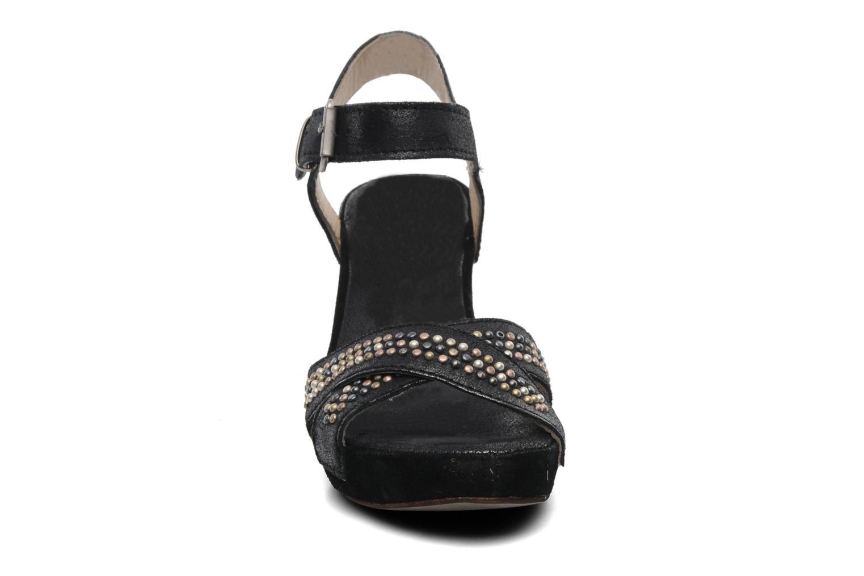 Sandalen Khrio Ycar N schwarz schuhe getragen
