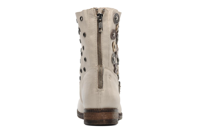 Bottines et boots Khrio Bala Beige vue droite