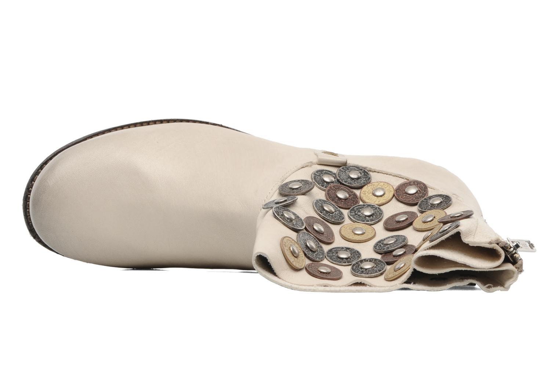 Bottines et boots Khrio Bala Beige vue gauche