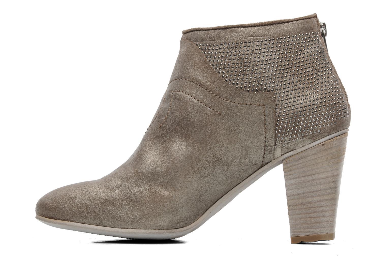 Boots en enkellaarsjes Khrio Carli Goud en brons voorkant