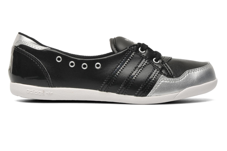 Ballerinas Adidas Originals Forum Slipper K schwarz ansicht von hinten
