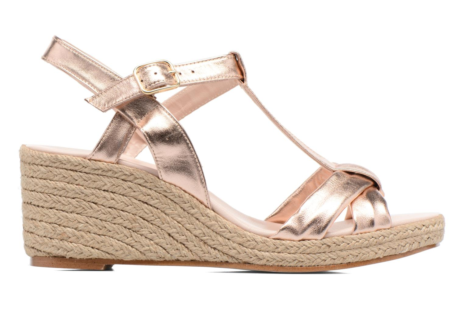 Sandals Anna Volodia Jemeo Bronze and Gold back view