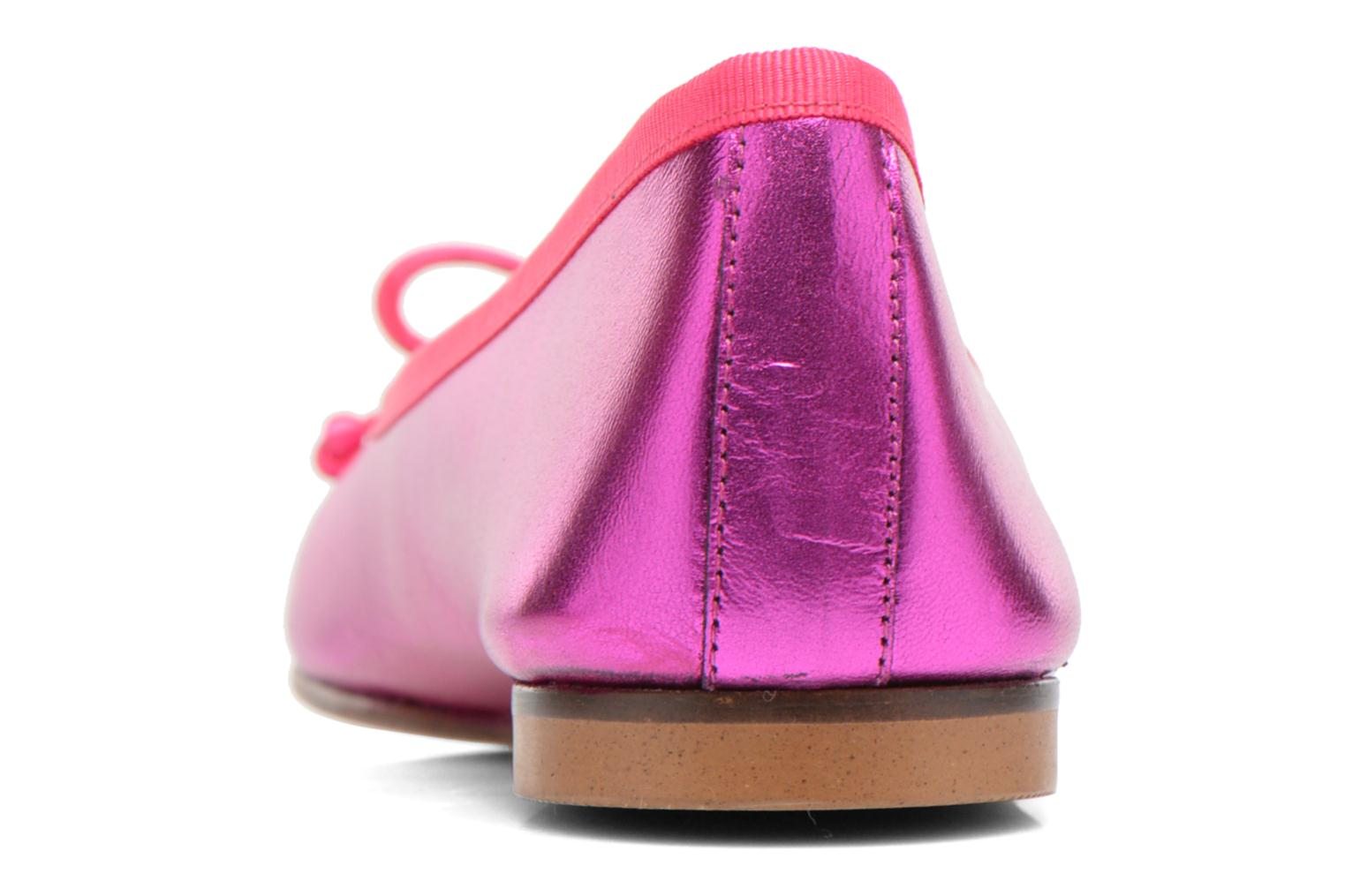 Ballet pumps Anna Volodia Luna Pink view from the right