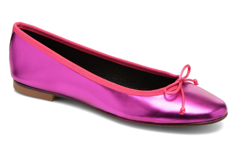 Ballerinaer Anna Volodia Luna Pink detaljeret billede af skoene