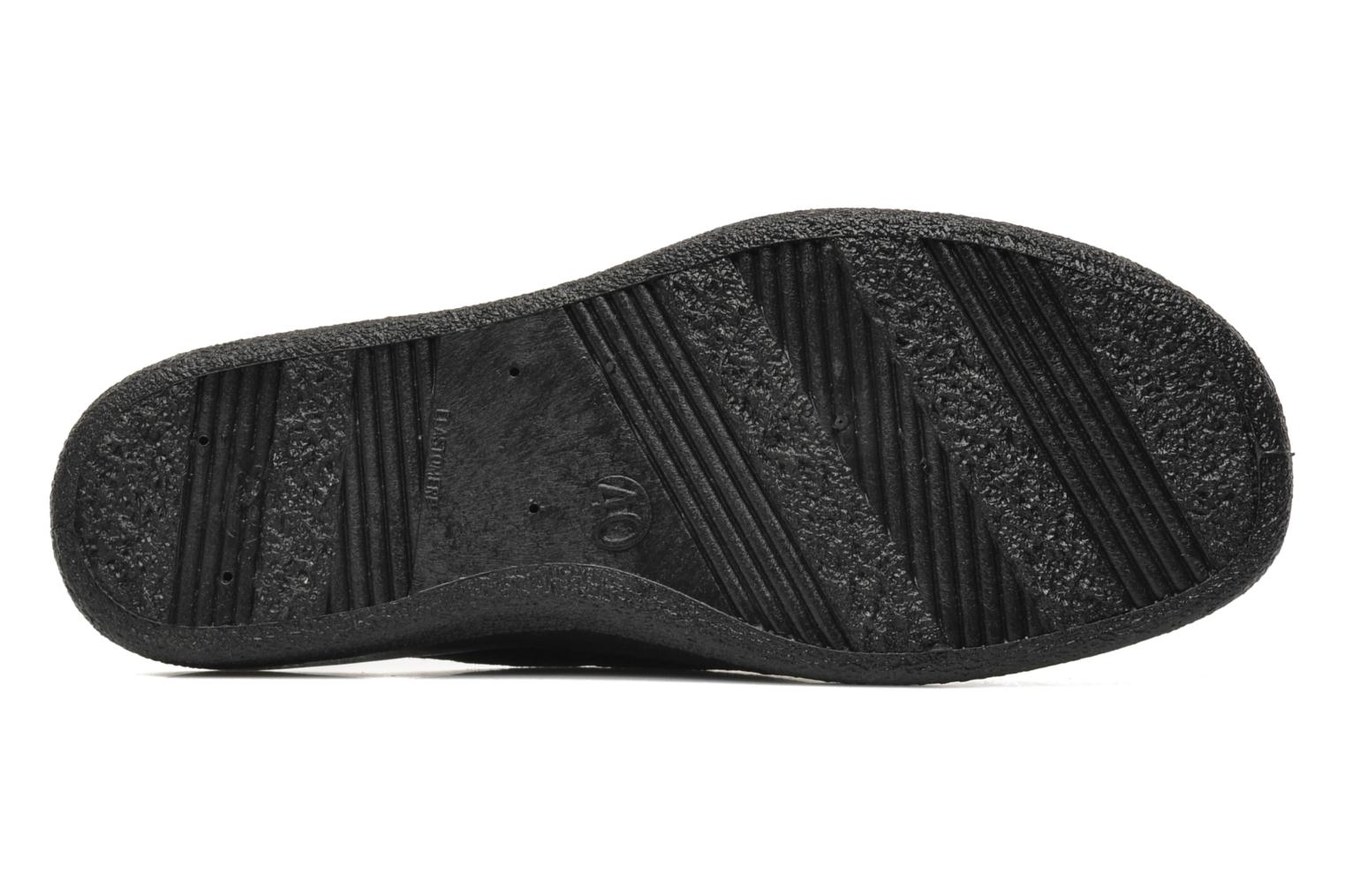 Slippers Rondinaud Ganzeville Black view from above