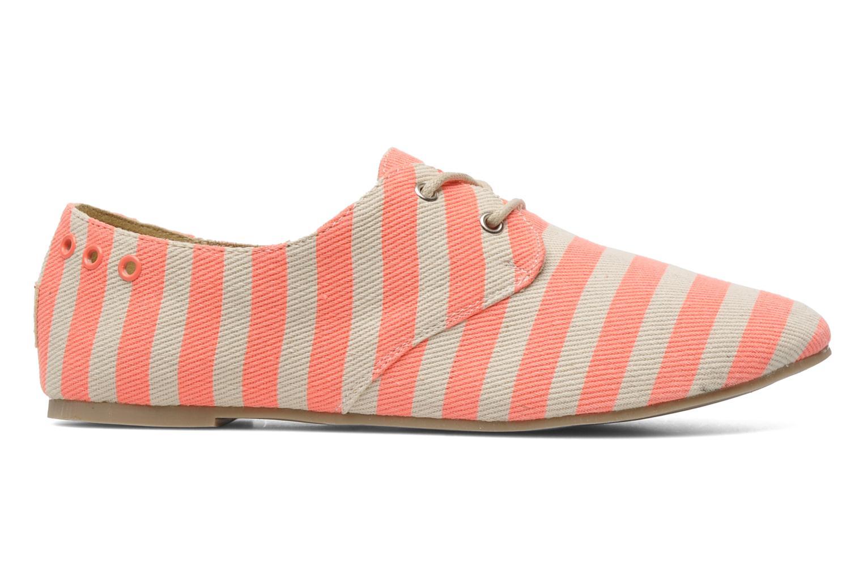 Chaussures à lacets Coolway Caribean Orange vue derrière