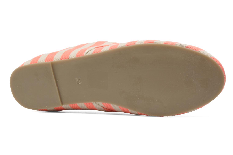 Chaussures à lacets Coolway Caribean Orange vue haut