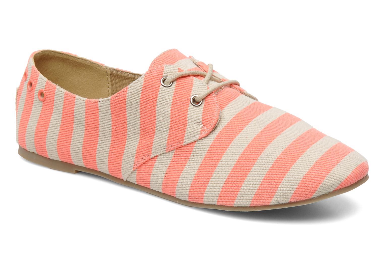 Chaussures à lacets Coolway Caribean Orange vue détail/paire