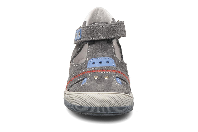Sandales et nu-pieds Bopy BARNY Gris vue portées chaussures